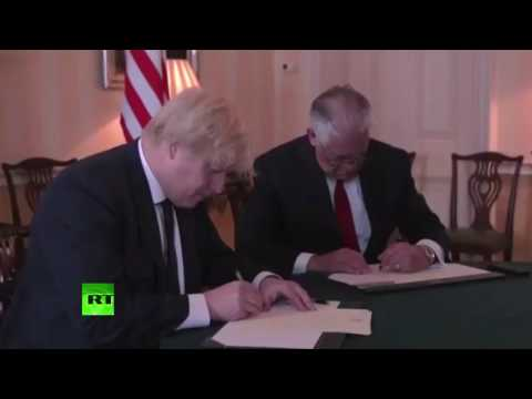 Rex Tillerson & Boris Johnson offer messages of condolence to Manchester victims
