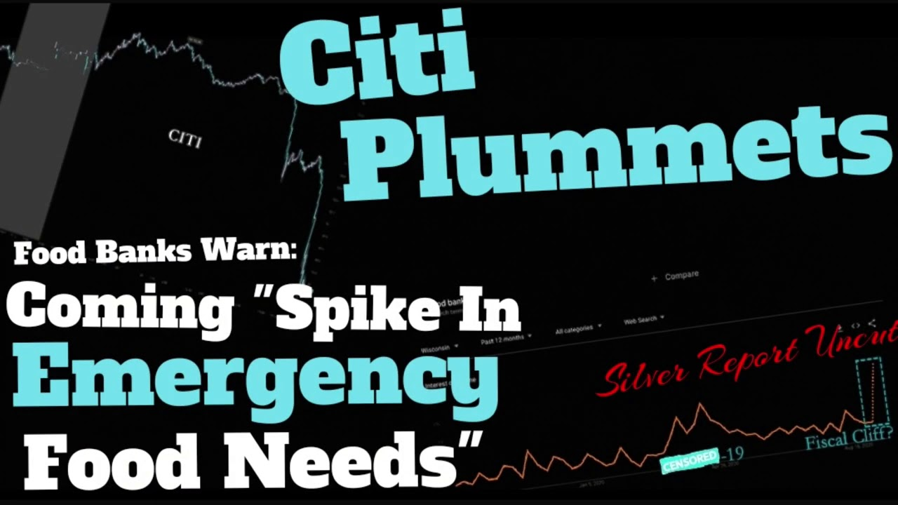 "Food Banks Warn Of ""Spike In Emergency Food Needs"", Citi, Crushed"