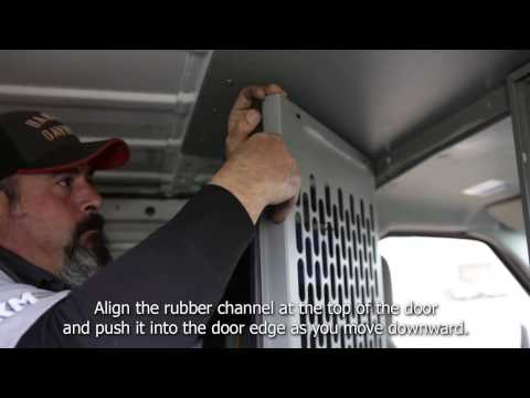 Kargo Master Partition Door Latch Installation Instruction