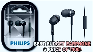 Video Philips SHE1455 | The best budget earphone at a price of ₹400 ?? | download MP3, 3GP, MP4, WEBM, AVI, FLV Juni 2018