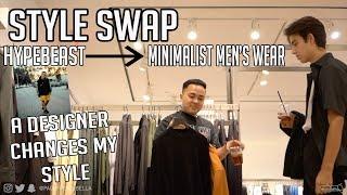 Style Swap: Hypebeast to Minimalist Menswear
