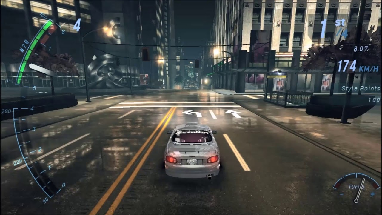 nfs underground best graphics mod youtube