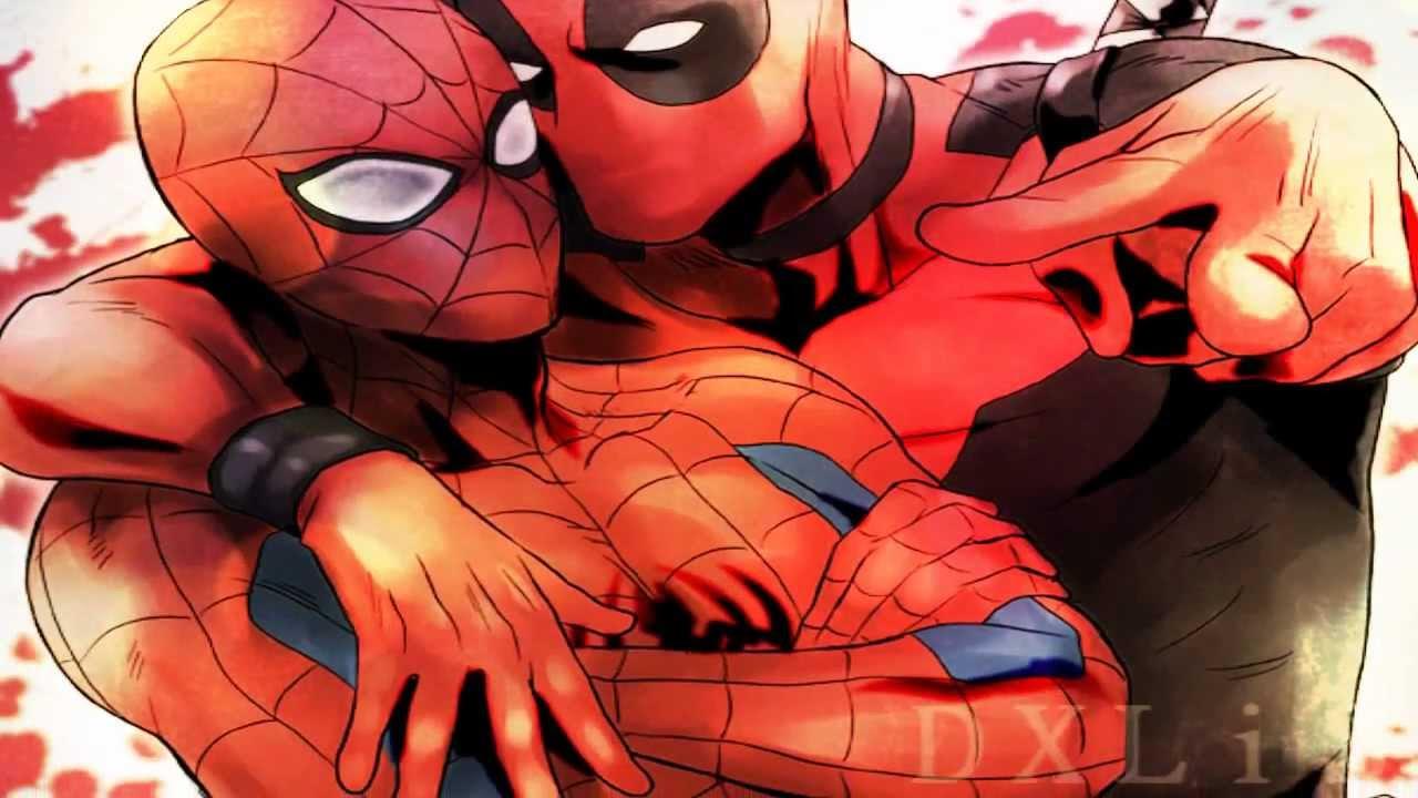 Deadpool X Spiderman May I