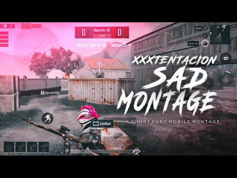 SAD - XXXTENCTION    BEST VELOCITY BEAT SYNC PUBG MONTAGE    MADE ON ANDROID