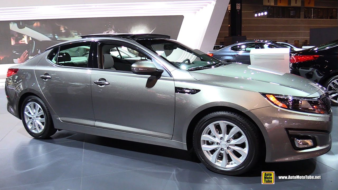 2015 KIA Optima EX   Exterior And Interior Walkaround   2015 Chicago Auto  Show   YouTube