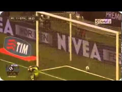 AC Milan Vs Palermo 2 - 0 All Goals