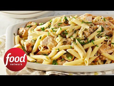 Rachael's Chicken Piccata Pasta Toss | Food Network