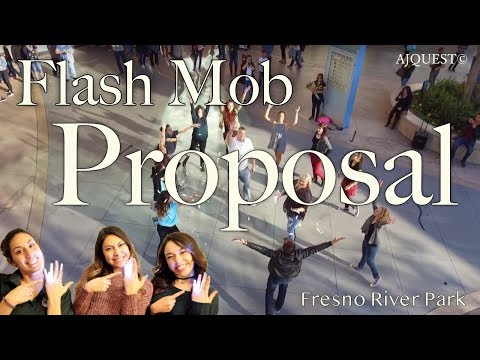 Surprise Wedding Proposal Flash Mob at River Park (Fresno, CA)