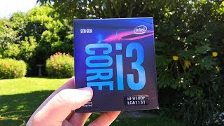 Gaming With Intel's Core i3 9100F - The First Turbo Boosted Desktop i3