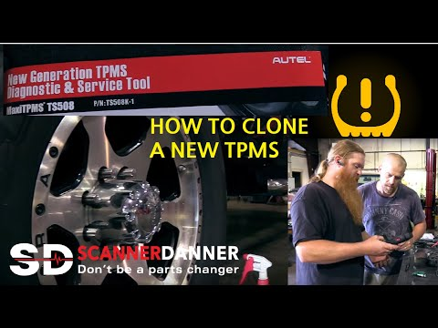 Cloning A New Tire Pressure Monitor Sensor (TPMS)