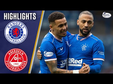 Rangers Aberdeen Goals And Highlights