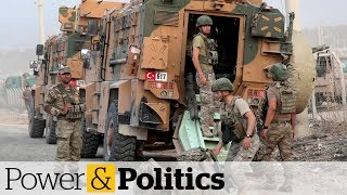 Turkish forces push deeper into northern Syria | Power & Politics