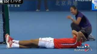 Novak Djokovic - Funniest Moments (Part 6)