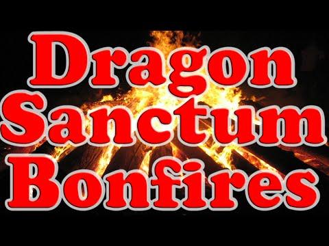 Dark Souls 2 DLC: All Dragon Sanctum Bonfire Locations!