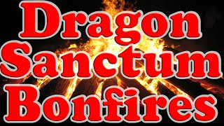 Dark Souls 2 DLC: All Dragon Sanctum Bonfire Locations!