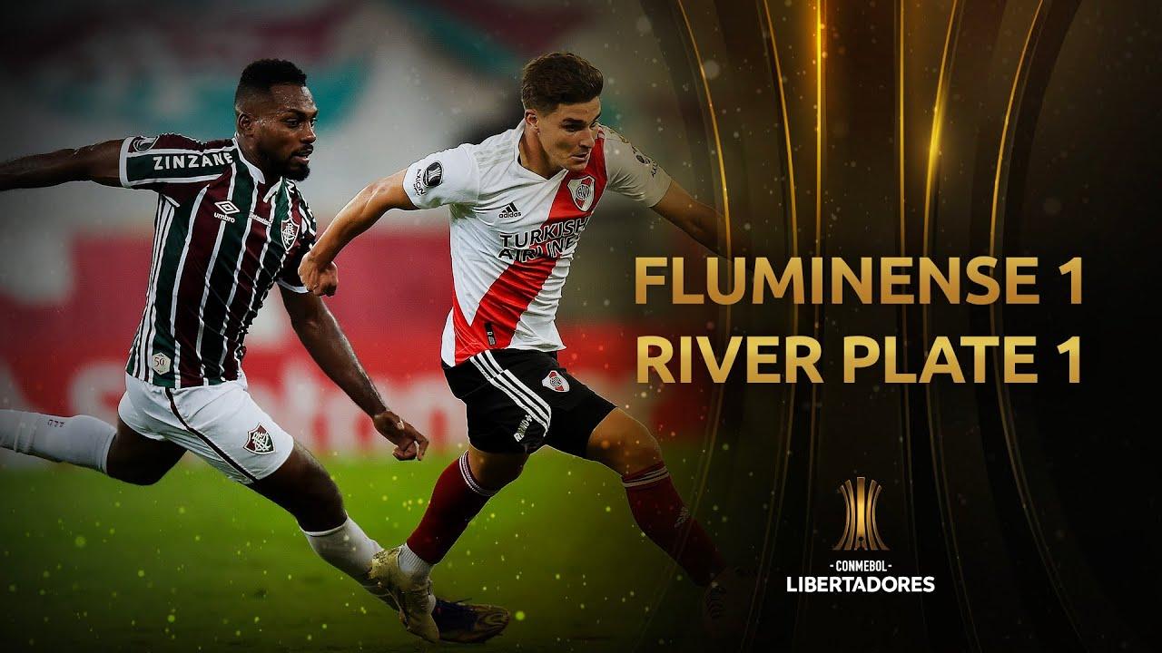 River debutó en la Libertadores con un empate ante Fluminense en Brasil