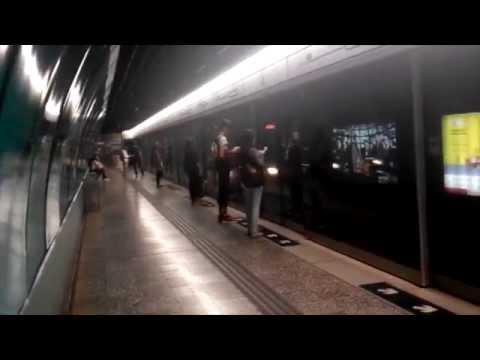 MTR Trains at Quarry Bay (Platform 3 & 4)
