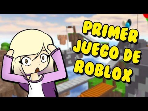 EL PRIMER JUEGO DE ROBLOX DE LA HISTORIA | Roblox en español