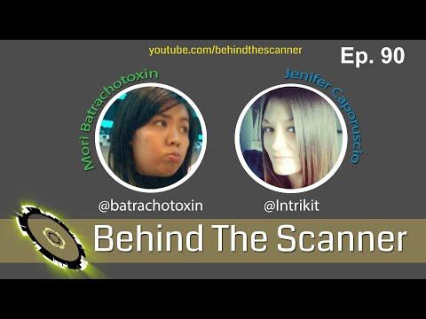 Behind The Scanner: Ep 90 - Mori Batrachotoxin & Jenifer Caporuscio