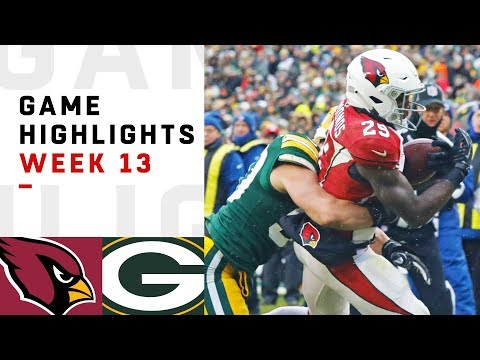 Cardinals vs. Packers Week 13 Highlights | NFL 2018