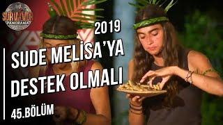 Melisa ile Bora Arasındaki Açgözlülük Konuşması | Survivor Panorama | 45. Bölüm