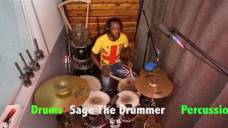 SAGE THE DRUMMER- WERRASON WENGE MMM SEBEN MIX DRUM COVER #2