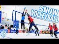 FIVB SNOW Volleyball Final USA vs RUSSIA | Kronplatz 2019