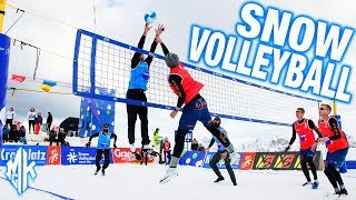 FIVB SNOW Volleyball Final USA vs RUSSIA | Kronplatz 2019