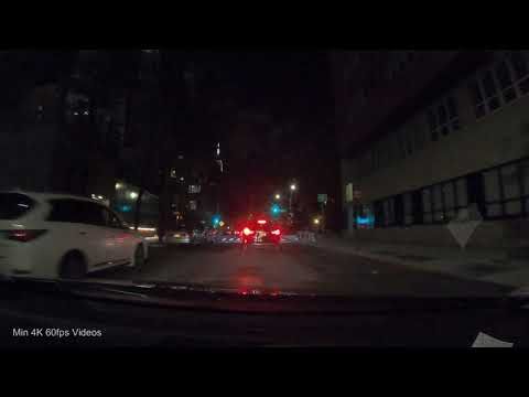 Driving NYC At Night: FDR Dr, Midtown, Inwood, USA
