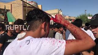 Iraq: Shias spill blood to mark Ashura in Baghdad *GRAPHIC*