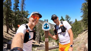 Download Pacific Crest Trail Marathon - Hwy 2 Vincent Gap to Hwy 2 Three Points (CA) Unsupported FKT