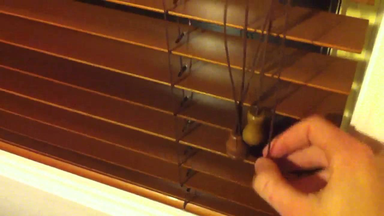 how to close blinds How To Close The Blinds at Night   YouTube how to close blinds