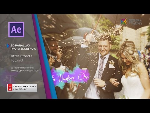 3D Parallax Photo Slideshow - After Effects Tutorial