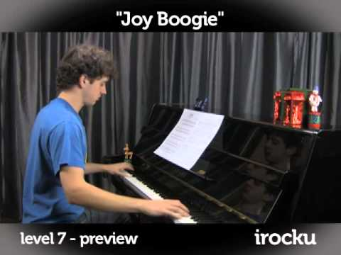 """Joy Boogie"" by Chuck Leavell piano lesson on www.irocku.com."