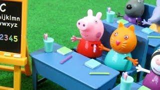 Peppa Pig Classroom Playset Bandai - Juguetes de Peppa Pig