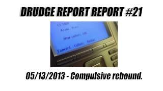 Drudge Report Report #21 - Compulsive rebound.
