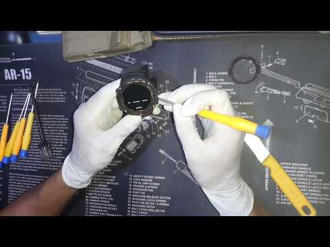 Suunto core all black button problemซ่อมนาฬิกา Suunto ปุ่มกดค้าง