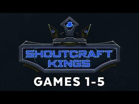 ShoutCraft Kings - Games 1-5