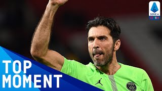 Gianluigi Buffon sets Serie A record with 648th appearance in today's game | Serie A TIM