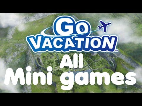 Go Vacation all minigames Activities in Resorts levels gameplay walkthrough Nintendo Switch
