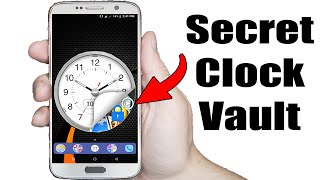 How To Hide Photos And Videos Inside A Clock   Secret Photos Videos Locker   Clock Vault App Review screenshot 5