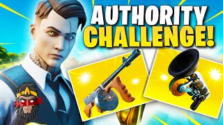 *CHALLENGE* AUTHORITY LOOT ONLY VE FORTNITE!!