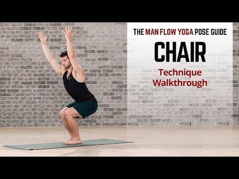 Chair Pose Technique Walkthrough