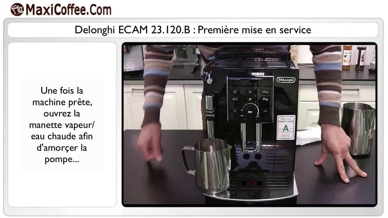 maxresdefault premi�re mise en service delonghi ecam 23 120 b youtube  at bayanpartner.co