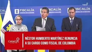 """""""He presentado renuncia irrevocable al cargo de Fiscal General"""""""