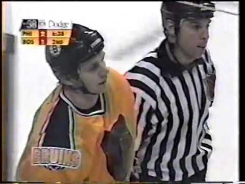 Chris McAllister (PHI) vs Andrei Nazarov (BOS)
