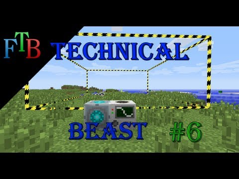 Minecraft: Feed The Beast - Technical Beast Episode 6 - Solar Power