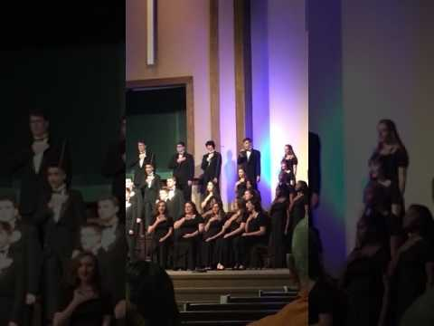 """White Winter Hymnal""  Buckhorn High School Concert Choir Winter Concert 2017"