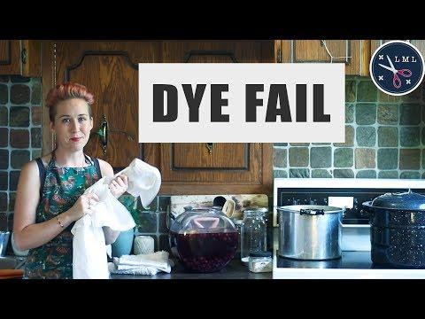 Natural Dye Experiment: FAIL! CONCORD GRAPES skin dye ON white LINEN SHIRT | Last Minute Laura