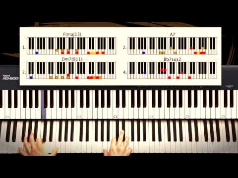 How to Play: Billy Joel - New York State of Mind (Intro). ORIGINAL Piano Tutorial by Piano Couture.
